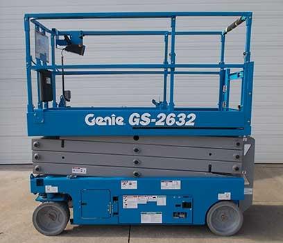 a 10m Genielift Scissor Lift Hire Platform