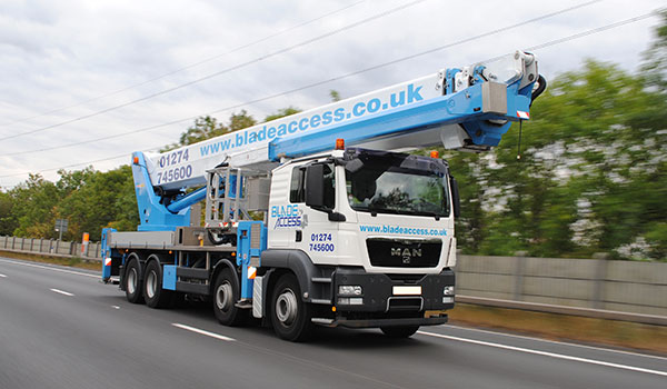 70M WUMAG PALFINGER WT 700 VEHICLE MOUNTED PLATFORM RENTAL