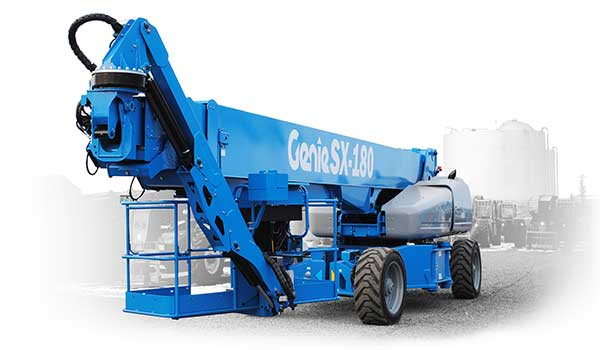 A genie SX180 cherry picker