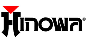 The logo for Hinowa spider lift platforms