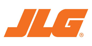 The logo for JLG one of the manufacturers of cherry picker hire mewp's supplied by blade access