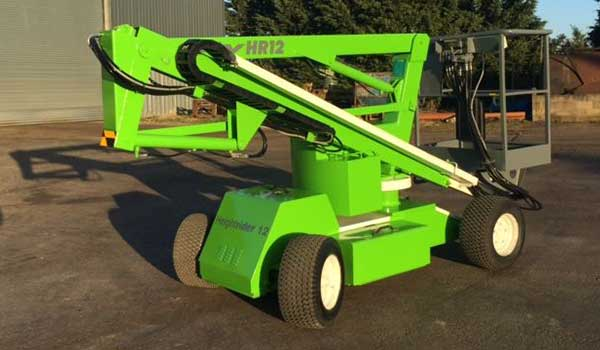 a nifty lift Bi-Energy boom lift for low level access