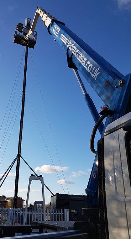 a 33m truck mounted platform