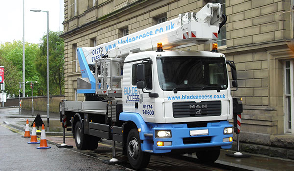 45m Wumag WT450 Truck Mounted Platform Hire