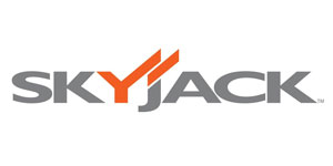 The logo for Skyjack mobile work platforms